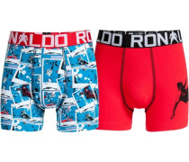 Boxer Boys Trunk 2er Pack blau