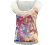 T-Shirt Damen mischfarben / offwhite