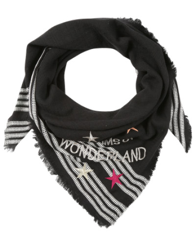 Schal 'Wonderland' schwarz