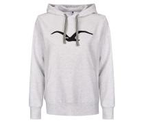 Sweatshirt 'Möwe' graumeliert
