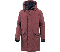 'Harry' Parka karminrot