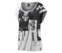 'Clip' T-Shirt schwarz / weiß