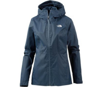 Funktionsjacke 'Zip-In DryVent' taubenblau