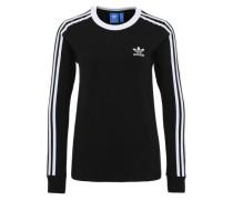 Sportlicher Jersey-Pullover schwarz