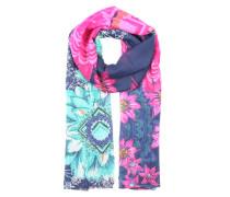 Halstuch 'New Dance' blau / pink