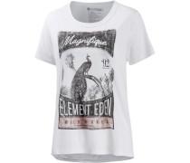 'Magnifique' Printshirt Damen weiß