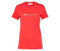 T-Shirt 'Eden' rot