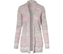 Strickjacke rosa