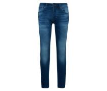 'jjiglenn Jjdash GE 103 Indigo Knit' Jeans blue denim