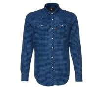 Hemd 'Tacoma' blau
