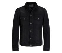 Klassische Jeansjacke black denim