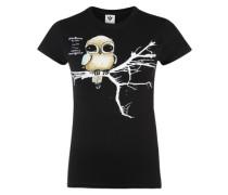 T-Shirt 'Fly Right' schwarz
