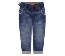 KANZ Kanz Jeans mit Crinkle-Effekten Jungen Kinder blau