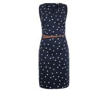 Kleid ohne Ärmel blau