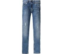 Jeans Powerflex Slim Regular Cashed für Jungen blue denim
