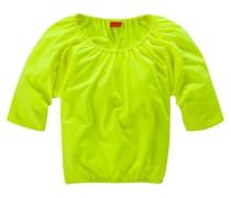¾ Arm Shirt für Mädchen gelb / grün