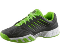 'KS TFW Bigshot Light 3-Dark' Tennisschuhe dunkelgrau / limette
