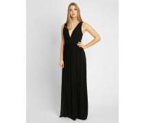Abendkleid aus Chiffon schwarz