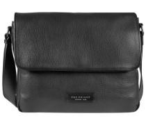'Plume Mix Uomo' Messenger Tasche schwarz