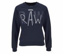 Sweatshirt »Chias« nachtblau / weiß