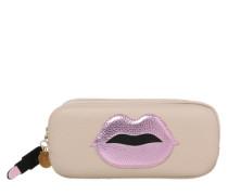 Kosmetiktasche 'Power Purse Pink Lips' rosa