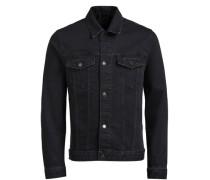 JACK & JONES Klassische Jeansjacke schwarz