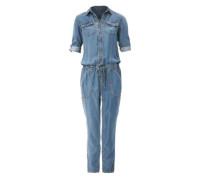 Jumpsuit aus Tencel-Denim blue denim