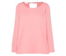 Fließende Bluse rosa