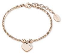 Armband 'Herz' rosegold