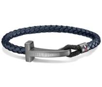 Armband »Men's Casual 2700870« nachtblau / silber