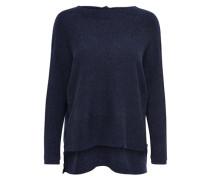 V-Ausschnitt-Pullover 'fillipa' dunkelblau
