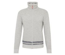 Strickjacke 'structured zip jacket'