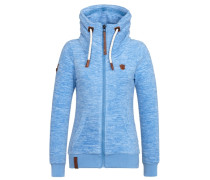 Female Zipped Jacket Redefreiheit? blau