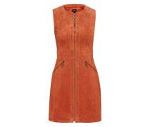 Kleid aus Wildleder 'marche' braun