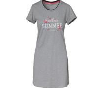 Nachthemd 'Elinda Cas' grau / mischfarben