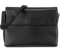 'Full' Handtasche 26 cm schwarz