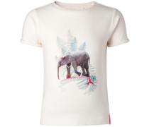 T-shirt Daphne mischfarben / weiß