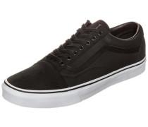 Old Skool Premium Leather Sneaker Herren schwarz