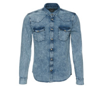 Jeanshemd 'denim Blue Moon' blue denim