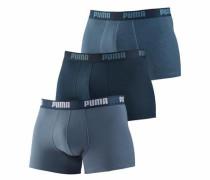 Boxer (3 Stück) in 3 Blautönen blau