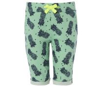 Shorts Bob blau / grün
