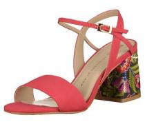 Sandalen mischfarben / pastellrot