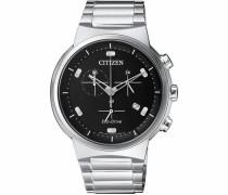Chronograph 'at2400-81E' schwarz / silber