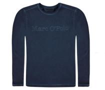 T-Shirt langärmlig Jungen Kinder blau