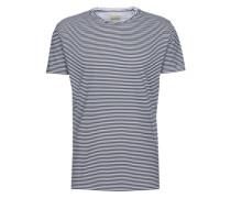 T-shirt 'Stripe tee' navy / weiß