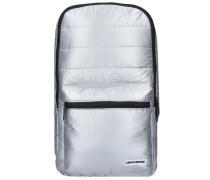 Rucksack 'Metallic Packable' 46 cm silber