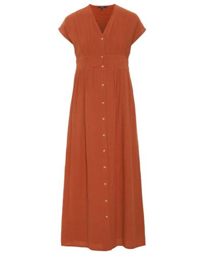 Kleid 'Sammi' rostbraun