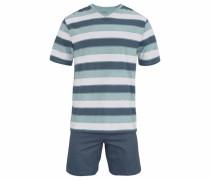 kurzer Pyjama marine / opal