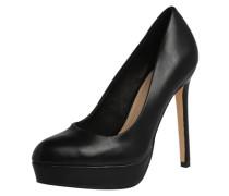 High Heel mit Plateau schwarz