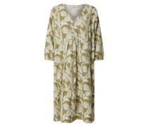 Kleid 'Esta' wollweiß / oliv